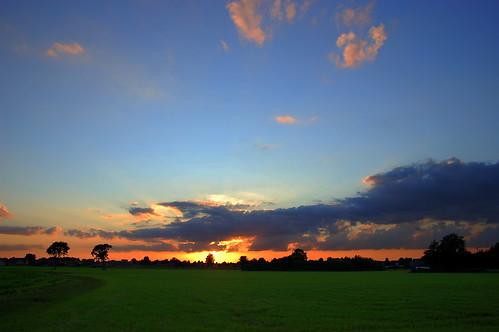 Sunset in Overpelt