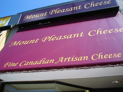 Mt Pleasant Cheese