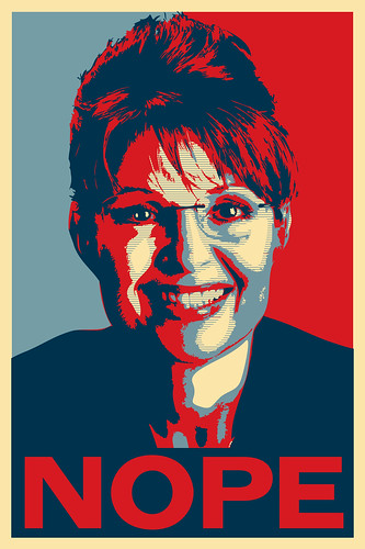 Nope Poster - Sarah Palin