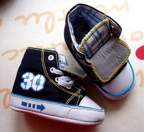 ilk ayakkabı...
