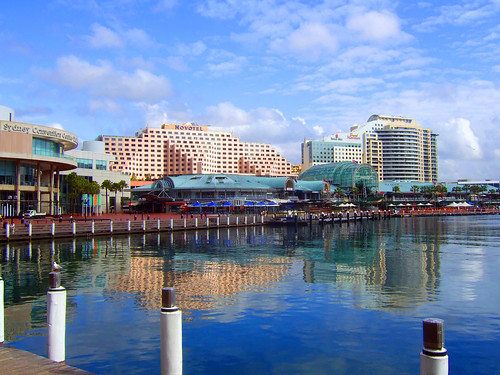 Blue Darling Harbour