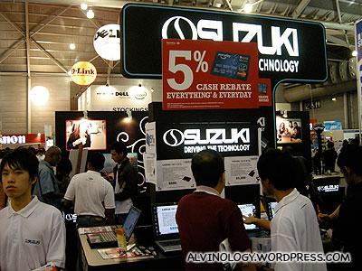 Suzuki laptop anyone?