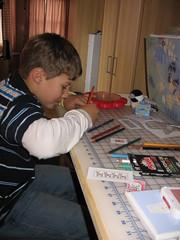 Junior Elf at work