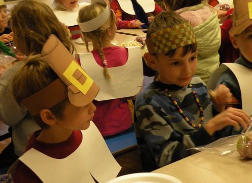 Gabe's first grade feast