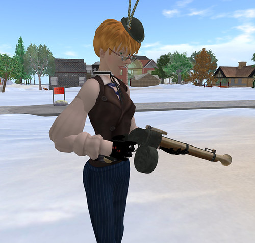 Ordinal Malaprop tests a weapon