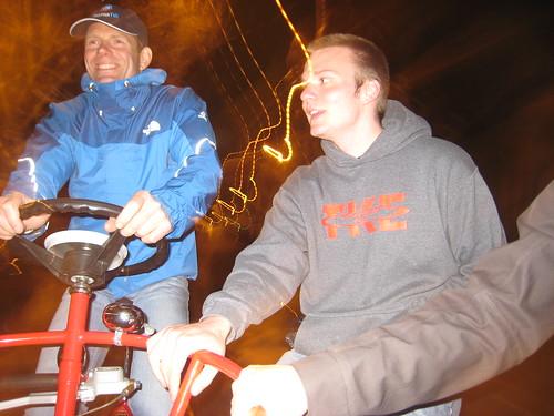 Riding the Dutch Bike Seattle Conference Bike on Ballard Ave
