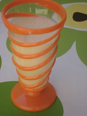 orange smoothy
