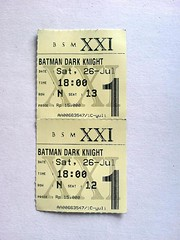 Tiket: The Dark Knight
