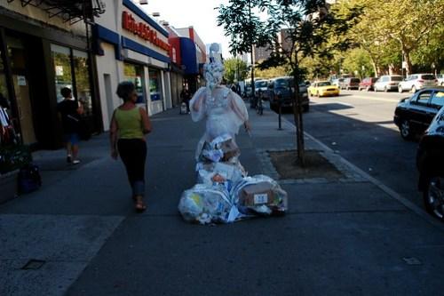 "Art in Odd Places: Edith Raw ""White Trash"""