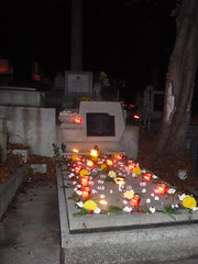 Central Cemetery on All Souls' Day