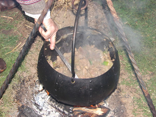 Cooking the stew
