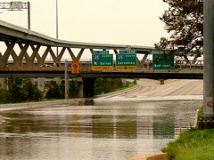 Ike - I-10 Flooded