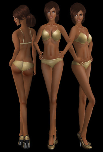 Aleri Darkes  Virgo Skins in Tan