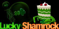 UR Shamrock Fed Jellyfish + SUR Crab Cake Shamrock