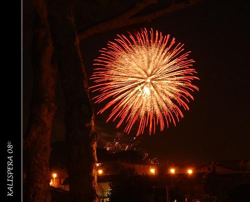 fuoco artificio