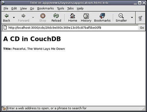 Rails using CouchDB!