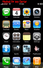 iPhone Hacked by Dennis Mueller, on Flickr