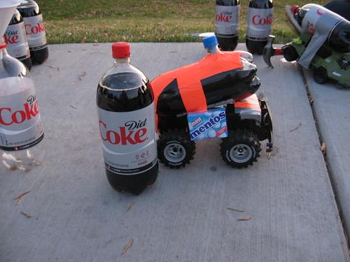 Mentos Powered Car (3)