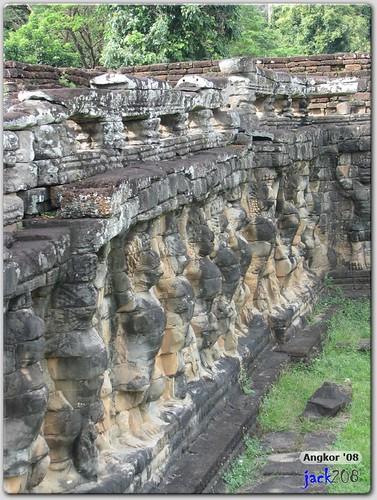 Garudas - Terrace of Elephants
