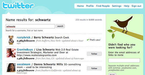 Find Friends On Twitter With Twitter People Search ...