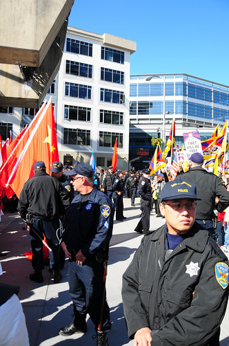 San Francisco Olympic Torch Relay and Protests