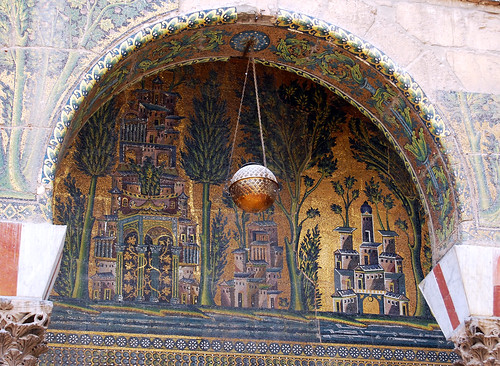 Mosaics at the mosque