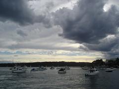 Sails at the bay