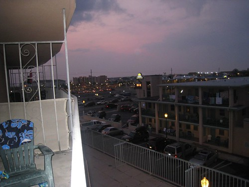 Evening on the Balcony