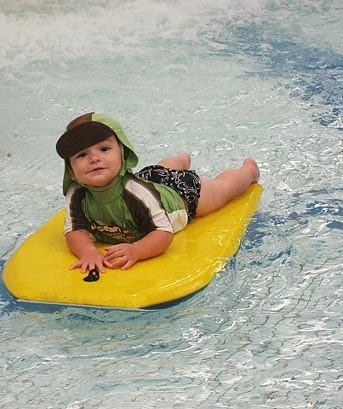 Surfing Jayden