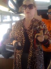 Trans Woman with Paris Hilton Dog