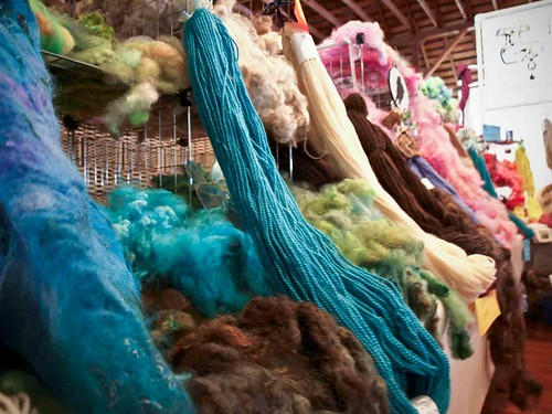 Fibre and Yarn at the OFFF