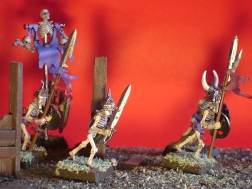 Scheletri conti Vampiro Warhammer