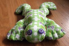 Frogr mascot