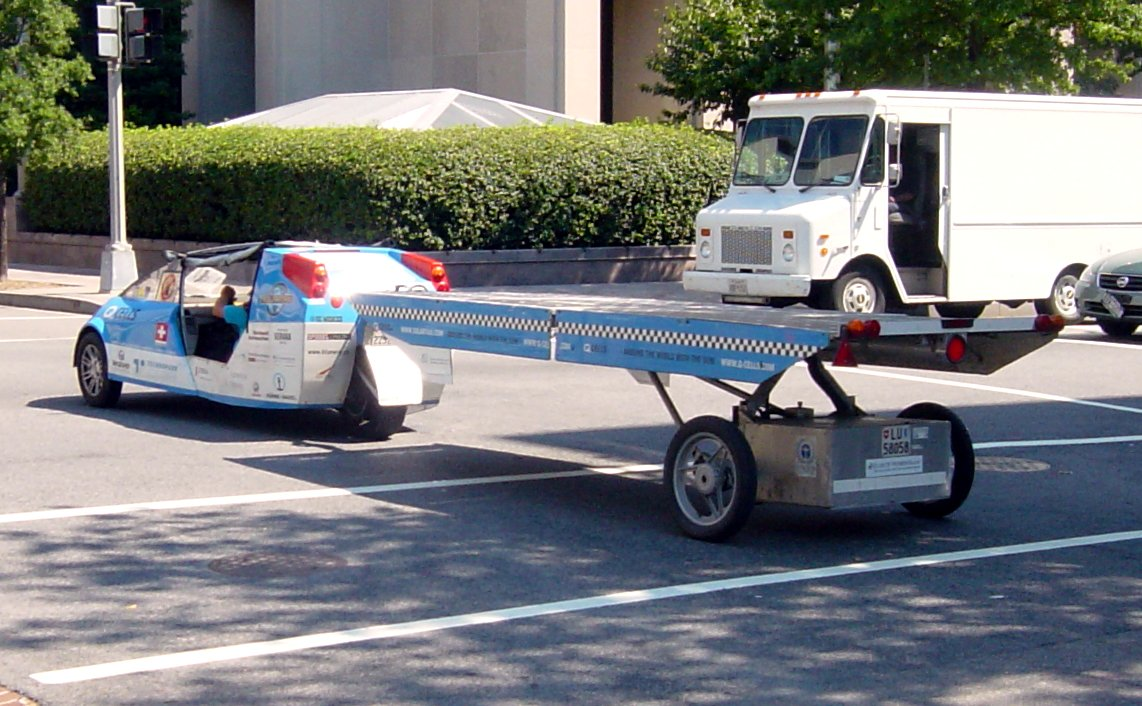 SolarTaxi at H St & 20th St NW, Washington, DC