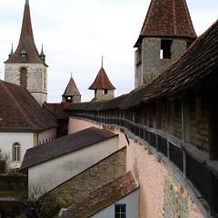 mittelalterliche Wehrmauer