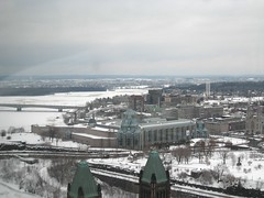 National Gallery in Ottawa from the Peace Tower
