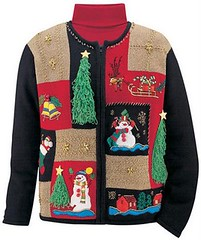 Tacky holiday sweater