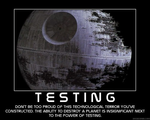 Image result for i find your lack of tests disturbing