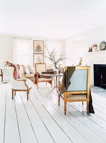 White stained floor brooklyn brownstone for Brownstone liquidators