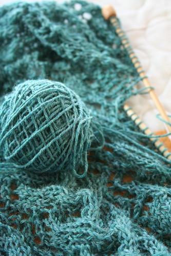 I definitely will run out of yarn