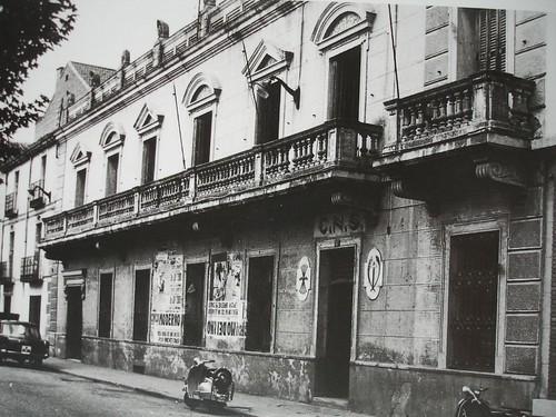 Delegación comarcal de sindicatos (antiguo casino de Alcalá)