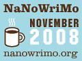 National Novel Writing Month Web Badge
