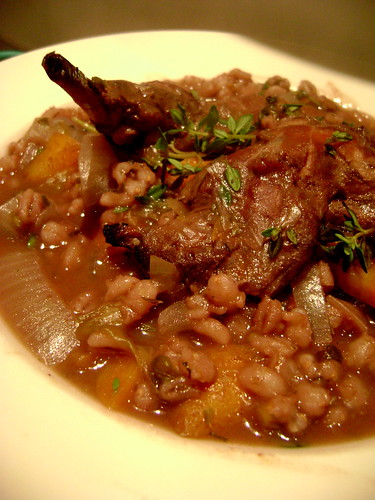 Bunny and Barley Stew