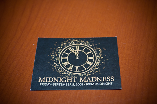 Midnight Madness Ticket