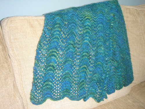 Old Shale Wrap, Finished, Preblocked