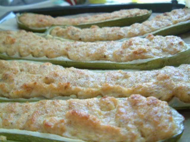 cucina ligure: zucchine ripiene