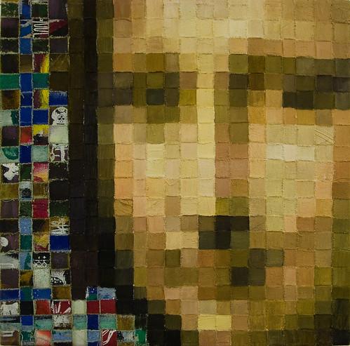 Pixel Painting: Mona Lisa