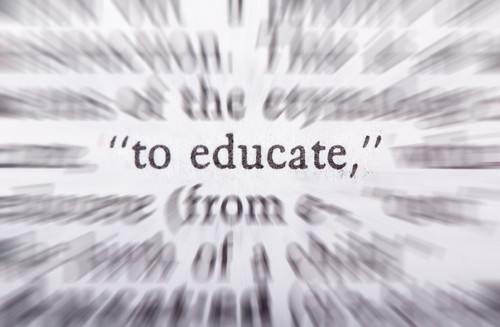 Education is . . .