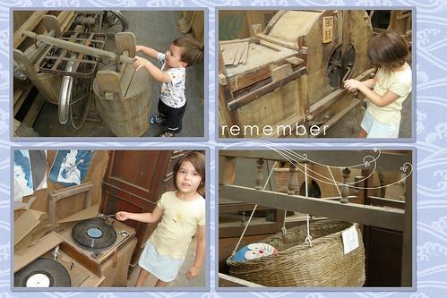 old fashioned machinery