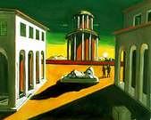 Giorgio de Chirico. Plaza de Italia, 1913.